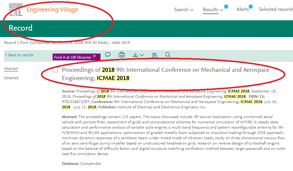 The Conference Proceedings 2018 Has Been Indexed By